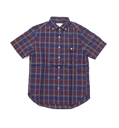 DELICIOUS半袖チェックシャツ_02