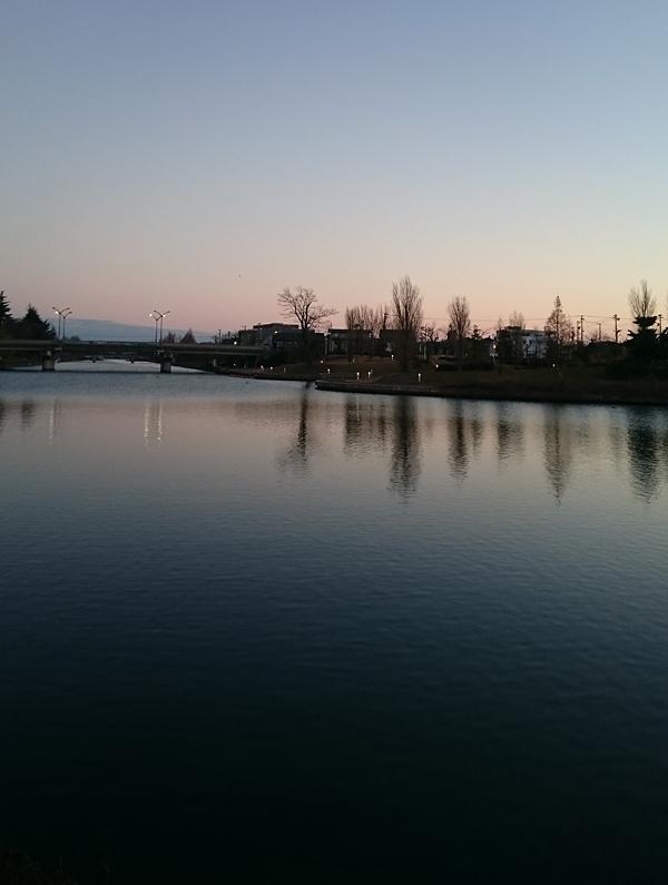 運河_夜明け前