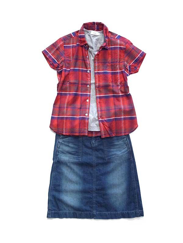 RINEN綿シルクシャツ
