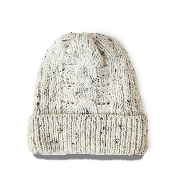 NWKニット帽_ECRU