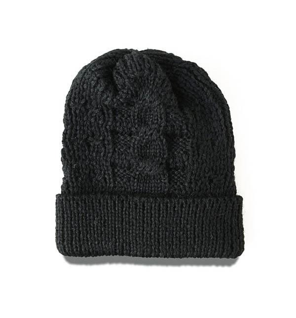 NWKニット帽_BLK